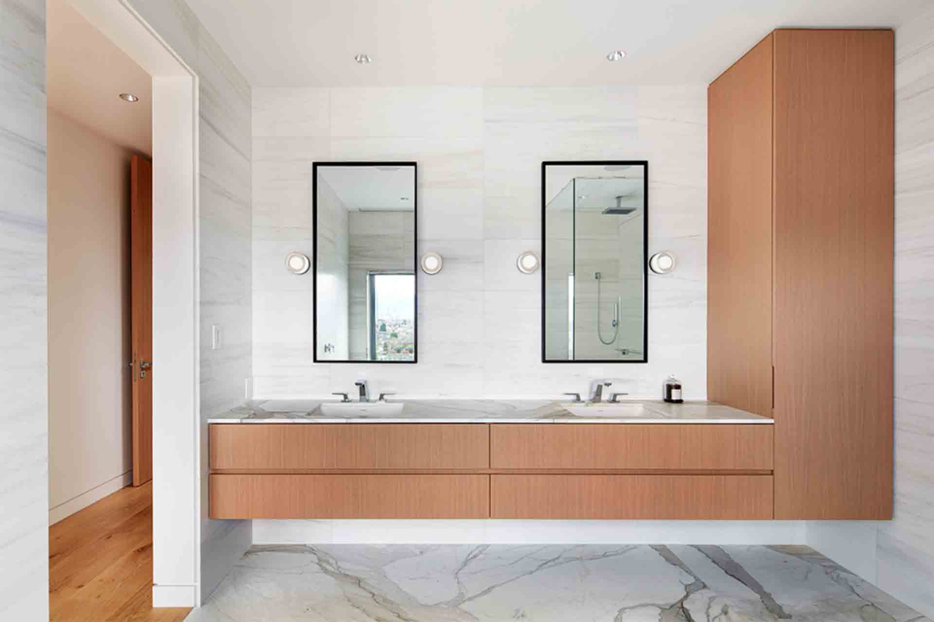West 30th Interior Design Bathroom HDA
