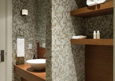 Angus Street Residence Interior Design Bathroom Shelves