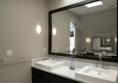 Angus Street Residence Interior Design Double Sink