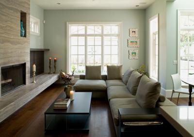 Angus Street Residence Interior Design Modern Livingroom