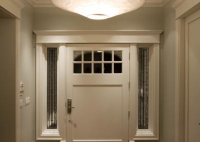 Angus Street Residence Interior Design entryway