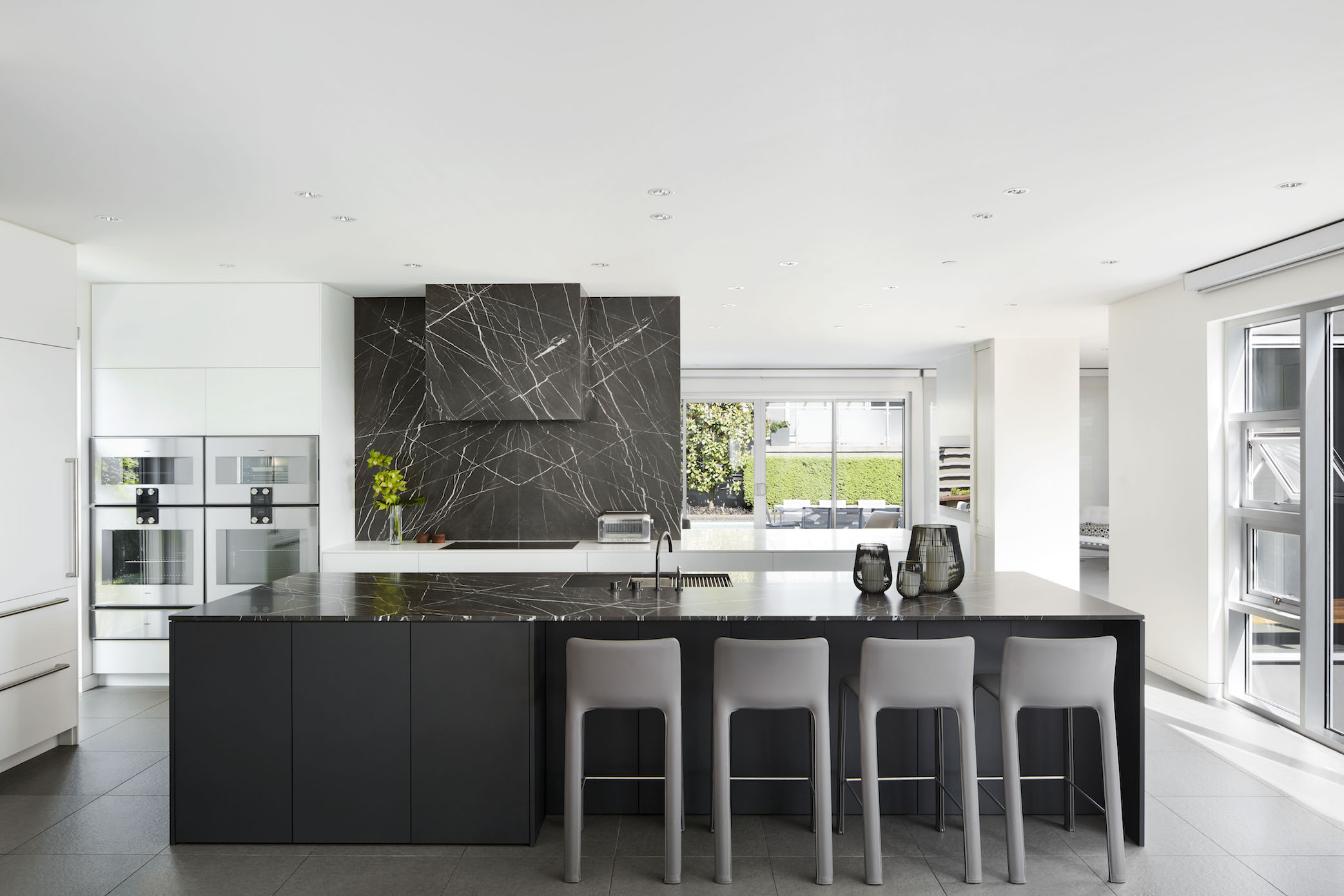 Marine Drive luxury modern kitchen reno
